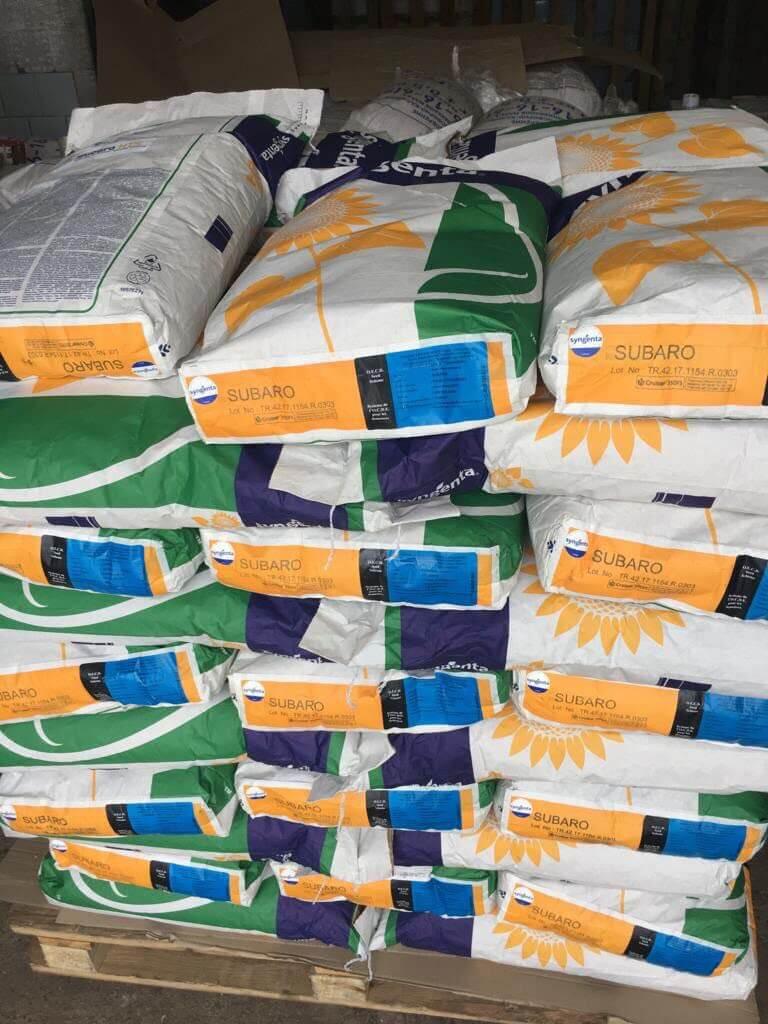 Семена подсолнечника Субаро купить